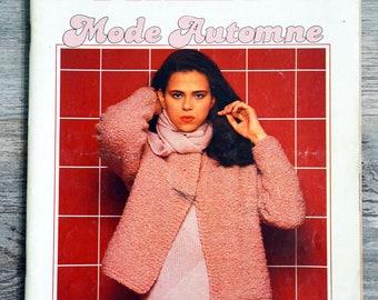 Magazine Phildar knits 76 - fall fashion (Vintage)