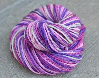 Wisteria Falls - targhee n-ply/chain-ply handspun yarn - bulky weight, 125 yards