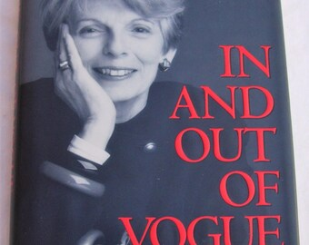 In and Out of Vogue Grace Mirabella Memoir First Edition First Printing 1995