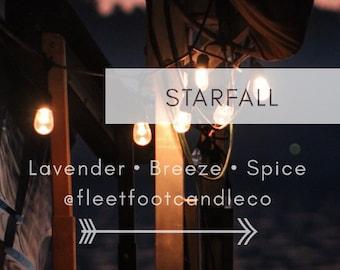 Starfall 8oz candle