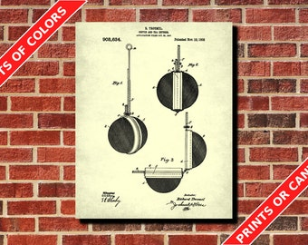 Tea Brewing Patent Print, Tea Diffuser Blueprint Tea Room Decor Cafe Poster Kitchen Art
