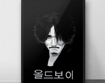 OldBoy, Park Chan-wook Film, Oldboy Movie Poster, Korean Movies, Choi Min-sik, Dae-su OH, Oldboy Korean Movie, Mystery Thriller Film