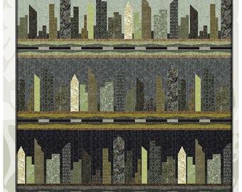 A Quilters Dream Urban Legend by Stephanie Prescott 80 x 80 Quilt Pattern