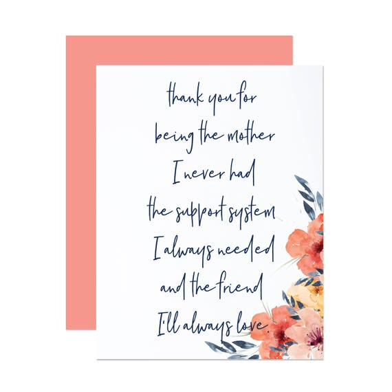 Mom I Never Had - Mother's Day Card