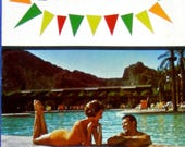 Vintage SCOTTSDALE Arizona State Travel Brochure AD souvenir pamphlet valley of the sun Advertising book travel guide photos scrapbook