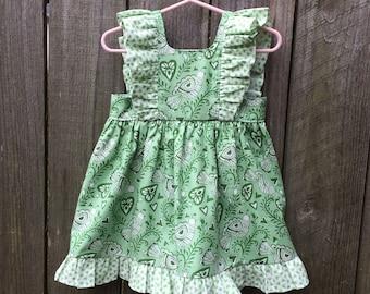 Custom Pinafore Dress