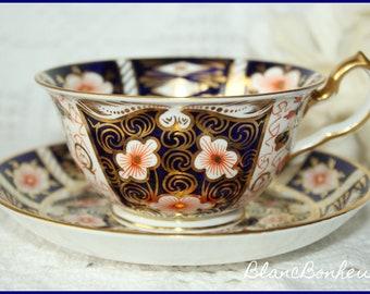Royal Crown Derby, England: Imari tea cup & saucer  2451