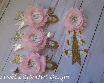 Baby Shower Corsage For Mom ~ Mom to be corsage etsy