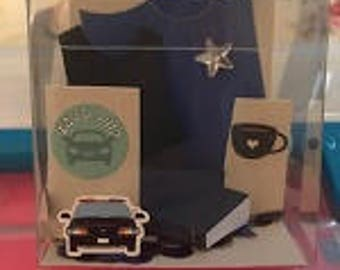 Police Officer Gift Box and Card