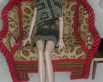 Furniture for dolls 1:4 Scale fits Tulabella, Sybaritas Numina, Jane, Taylor Wentworth
