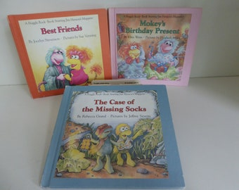 1980's Three Weekly Reader Fraggle Rock books