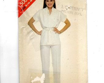 Butterick Misses' Tunic, Belt and Pants Pattern 5003