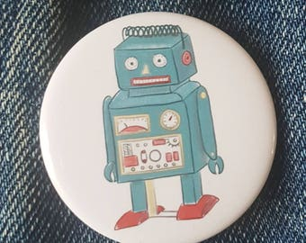 Toy Robot - button