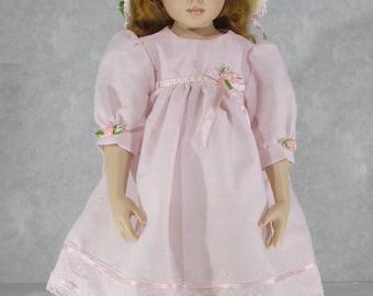 16 inch Kish Doll, Ribbon and Roses