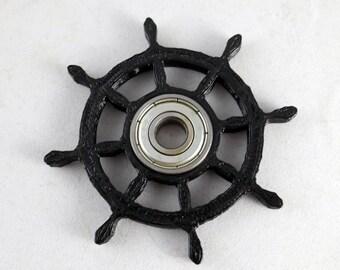 Spinner Fidget Toy EDC Hand Finger Spinner Desk Focus Boats Wheel One Hand