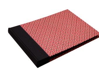 Family Album, red black Pinny Pattern