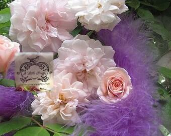 Wisteria Lavender Marabou Boa Feathers