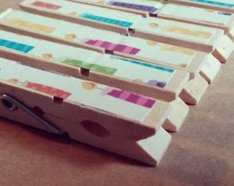 Candle Clothespins