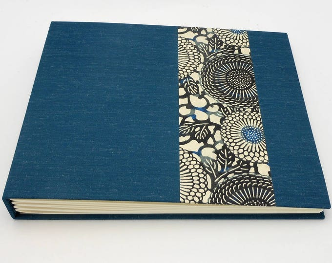 Blue Mohair Photo Album - Made to Order - multiple sizes available