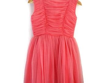 Girls Dress, Vintage Girls Dress, Vintage Party Dress, Vintage Prom Dress, Girls Party Dress, Girls Vintage Dress