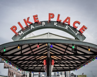 Pike Place Market street shelter