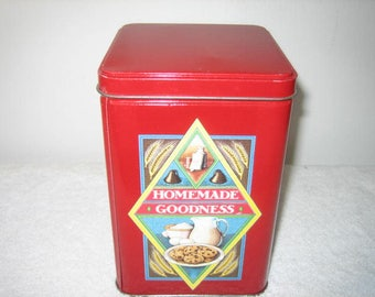 Vintage Toll House Tin - Toll House Cookie tin - Vintage Toll House Collectibles