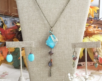 Necklace Display SET•Earring Display•Jewelry Combo Kit