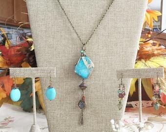 Halskette Display SET•Earring Display•Jewelry Combo Kit
