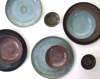 : ceramic plates and bowls - pezcame.com