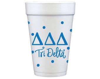 Delta Delta Delta   Dots  (Qty 12)