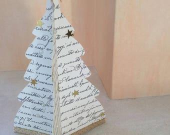 calligraphy menu meals paper tree