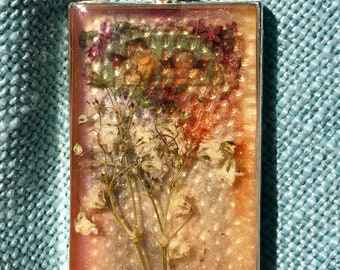 Nature-Inspired Resin Art Pendant