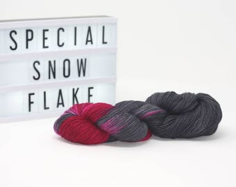 Special Snowflake - Hand Dyed Merino/Silk Yarn