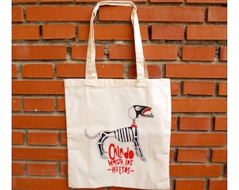 """Draught"" bag ~ off-white"