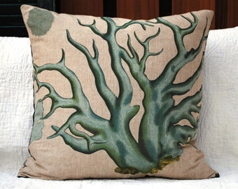 Pillow cover Design Legacy blue coral  It's back!