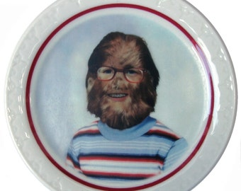 Stevie the Sasquatch Portrait Plate 5.5""