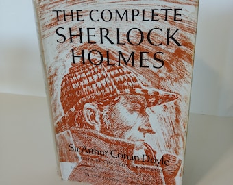 "Vintage ""The Complete Sherlock Holmes"" Vol.1 by Sir Arthur Conan Doyle"