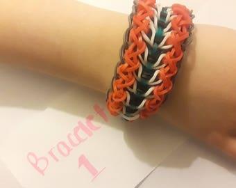 Amandalyn Rainbow Loom Bracelet