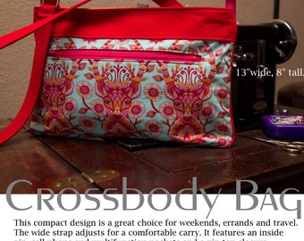 Lexi Medium Crossbody Bag Purse PDF Sewing Pattern