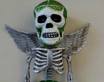 Mexican masked wrestler.