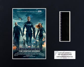 Captain America Winter Soldier 8 x 10 Film Cell