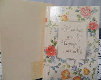 Hallmark Address Book with Gift Box
