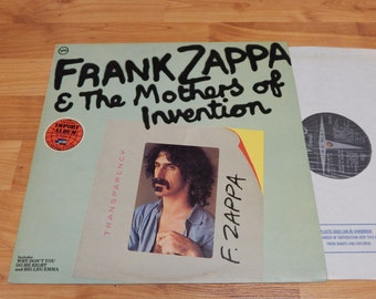 Frank Zappa & The Mothers Of Invention Transparency Vinyl Record LP Album Mono Import Verve