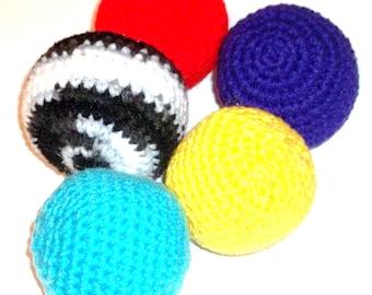 Catnip Cat Toy Balls Crochet