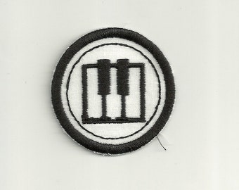 "2"" Piano Merit Badge, Patch! Any Color combo! Custom Made!"