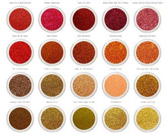 Glitter Makeup, Face & Body Glitter, Cosmetic Glitter, Colored Glitter, Rainbow Glitter, Cosmetic Glitters, For Festivals, Pick Your Shade