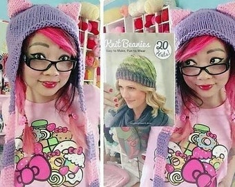 Made to Order - Cat Hat with Ear Flaps - All Sizes - Custom Colors - Kitty Ears Cosplay Winter Accessory
