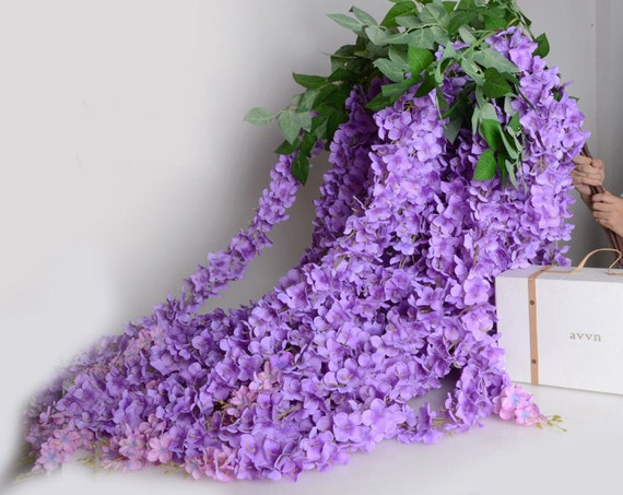 3 pcs artificial silk wisteriahome garden hanging flower plant 3 pcs artificial silk wisteriahome garden hanging flower plantpurple wisteria wedding vine decorfor wedding partyfloral supplies122 17 from popolace mightylinksfo Images