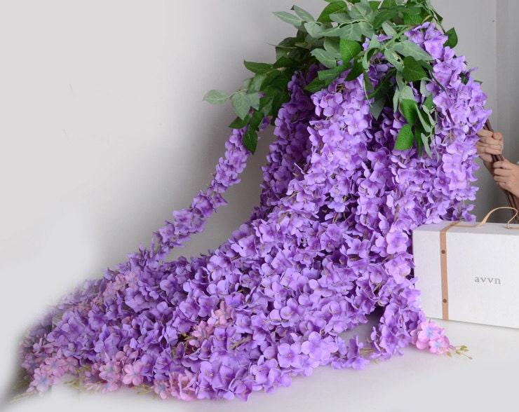 5 pcs artificial silk wisteriahome garden hanging flower plant 3399 mightylinksfo