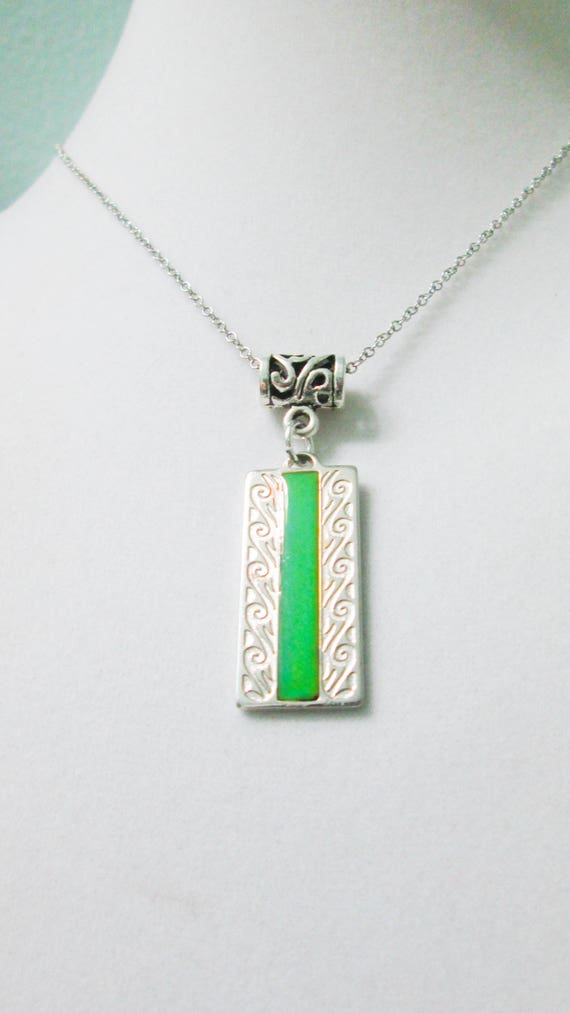 Mood necklace color changing necklace mood pendant mood aloadofball Gallery